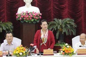 Chủ tịch Quốc hội làm việc với lãnh đạo chủ chốt tỉnh Bình Thuận