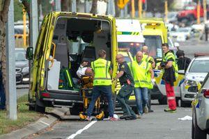 Xả súng kinh hoàng chấn động New Zealand