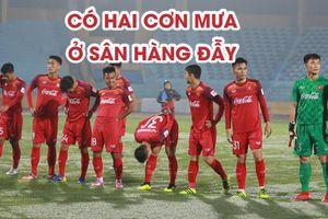 U.23 Việt Nam tạo cơn mưa bàn thắng trên sân vận động Hàng Đẫy