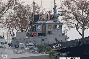 EU cấm vận thêm 8 quan chức Nga liên quan tới vụ bắt giữ tàu Ukraine