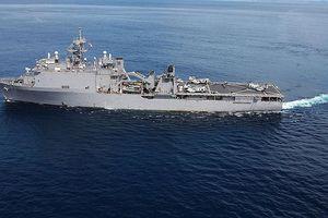 Dịch quai bị khiến tàu chiến Mỹ lòng vòng 2 tháng ngoài khơi Vịnh Ba Tư không thể cập cảng