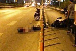 Xe máy lại lao vào dải phân cách trên cao tốc, nam thanh niên tử vong