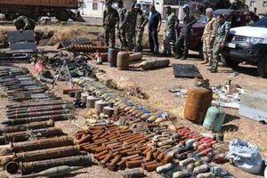 Syria: Điều bất ngờ trong kho vũ khí của khủng bố mới được phát hiện ở Deraa