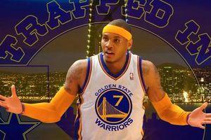 Carmelo Anthony có thể gia nhập Warriors để thi đấu ở playoffs