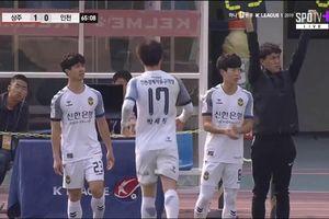 Công Phượng thi đấu xuất sắc, Incheon vẫn nhận thất bại đáng tiếc