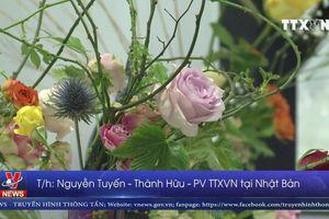 Nghệ nhân Việt Nam tham dự triển lãm Ikebana tại Nhật Bản