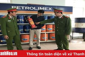 Tăng cường công tác phòng cháy, chữa cháy tại các cửa hàng kinh doanh xăng dầu