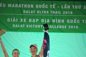 Lễ trao giải Dalat Ultra Trail 2019 tại Đà Lạt