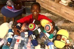 'Thần đồng đan len': 11 tuổi đã là ông chủ, ước mơ trở thành bác sĩ