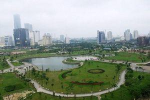 Hà Nội: Nghiên cứu làm bãi đỗ xe ngầm tại công viên Cầu Giấy