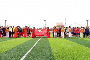 Khai mạc giải bóng đá công nhân lao động trong các KCN