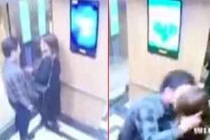 Bất ngờ thái độ kẻ cưỡng hôn nữ sinh trong thang máy