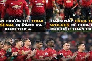Anti fan hả hê chế ảnh 'chế giễu' MU bị loại khỏi Cup FA