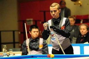 Việt Nam thua đáng tiếc trước Hà Lan ở tứ kết giải Billiards đồng đội thế giới