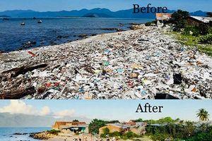 Trào lưu nhặt rác khoe Facebook: Bảo vệ môi trường không biên giới