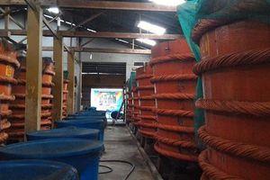 Chỉ đạo nổi bật: Không để ảnh hưởng tiêu cực đến sản xuất nước mắm truyền thống