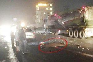 Hải Phòng: Va chạm với xe taxi, người đàn ông tử vong thương tâm