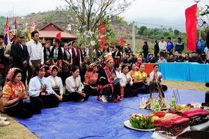 Lễ hội cầu mưa của người Thái ở Mộc Châu