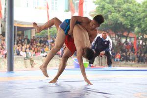 Hà Nội vô địch toàn đoàn tại Giải vô địch Vật dân tộc toàn quốc năm 2019