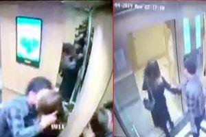 NÓNG: Xử phạt đối tượng sàm sỡ nữ sinh trong thang máy ở Nhân Chính