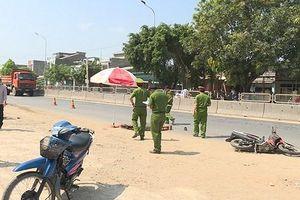 Xe tải va chạm xe máy, 1 thanh niên tử vong