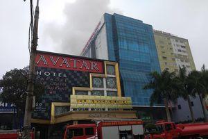 Cháy lớn ở tổ hợp bar, karaoke Avatar, 1 người chết
