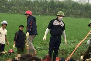 Vụ 2 thi thể tử vong dưới mương nước: Người vợ đang mang thai