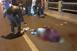 Tự đâm vào thành cầu Vĩnh Tuy, nam thanh niên chết thảm trong đêm