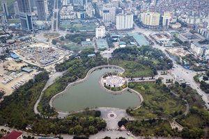 Đề xuất 'xén' đất công viên làm bãi xe, khu mua sắm ở Hà Nội