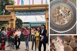 Hàng trăm trẻ nhiễm sán lợn ở Bắc Ninh: Bữa ăn trường học bị bỏ ngỏ?
