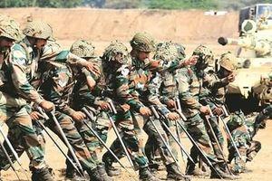 Ấn Độ huấn luyện quân sự dã chiến với 16 quốc gia châu Phi