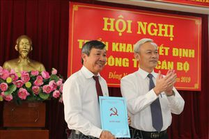 Công bố quyết định chuẩn y ông Hồ Thanh Sơn làm Phó Bí thư Tỉnh ủy Đồng Nai