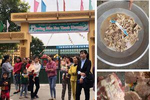 Mẫu thịt gà tại Trường Mầm non Thanh Khương (Bắc Ninh): Đạt chỉ tiêu an toàn thực phẩm!