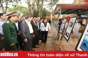 Khai mạc Triển lãm trưng bày tư liệu 'Hoàng Sa, Trường Sa của Việt Nam - Những bằng chứng lịch sử và pháp lý' tại huyện Như Thanh