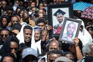 Ethiopia tổ chức lễ tang tập thể cho 157 nạn nhân vụ rơi máy bay Boeing