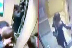Xử phạt đối tượng sàm sỡ nữ sinh trong thang máy
