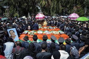 Nỗi đau xé lòng trong lễ tang các nạn nhân thảm kịch máy bay Ethiopia