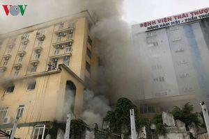 Cháy lớn tại tổ hợp khách sạn, quán bar Avatar nhiều người cầu cứu