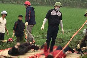 Bàng hoàng phát hiện 2 thi thể dưới mương nước tại Thái Bình