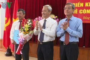 Ông Hồ Thanh Sơn giữ chức Phó bí thư thường trực Tỉnh ủy Đồng Nai