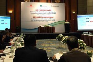 Hà Nội tham vấn các nhà khoa học về chiến lược phát triển giao thông đô thị bền vững