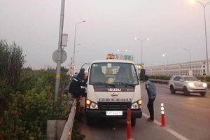 TP. HCM: Diễn biến mới vụ cục bê tông chặn ô tô vào làn xe máy trên cao tốc khiến 2 người thương vong