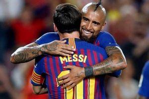 Arturo Vidal: 'Messi là duy nhất của bóng đá thế giới'