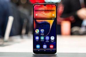 Galaxy A20 ra mắt - màn hình giọt nước, camera kép, giá 215 USD