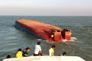 Chìm tàu nạo vét ở Cần Giờ, thuyền trưởng mất tích