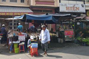 TP Hồ Chí Minh: Chấm dứt hoạt động chợ tạm Cô Giang quận 1