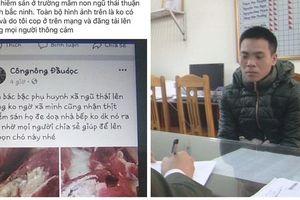 Tạm giữ chủ tài khoản facebook do đăng thông tin thất thiệt về lợn nhiễm sán tại Bắc Ninh