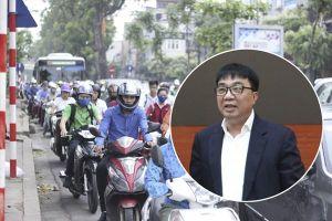 Đề xuất cấm xe máy: Giám đốc Sở GTVT Hà Nội nhận 'mưa' câu hỏi