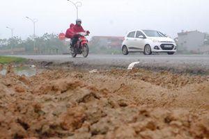 Cảnh nhếch nhác ở tuyến đường tránh được trạm BOT Bắc Thăng Long - Nội Bài thu 'hộ'