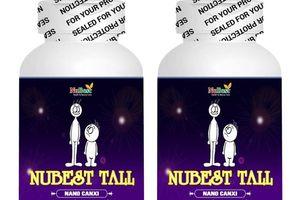 Quảng cáo viên uống hỗ trợ phát triển chiều cao Nubest tall có dấu hiệu lừa dối người tiêu dùng